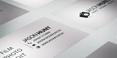 Business Card for Jason Hunt