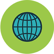 Low cost webdesign in NZ - Service - SEO - Globe Icon