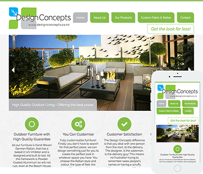 New Zealand affordable web design - Featured website - Auckland Property