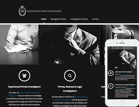 Affordable NZ Webdesign Peregrine Web - Recent Works - International Private Investigations