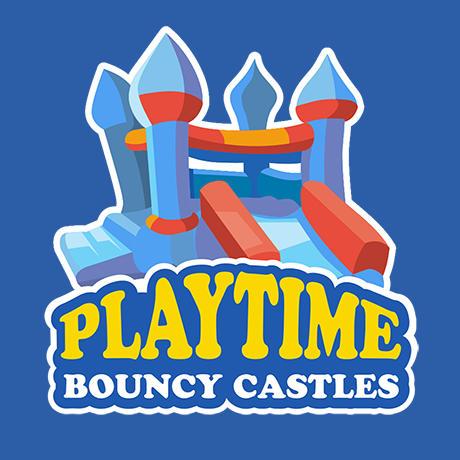 Small Business Webdesign Peregrine Web - Logo Design - Playtime Bouncy Castles