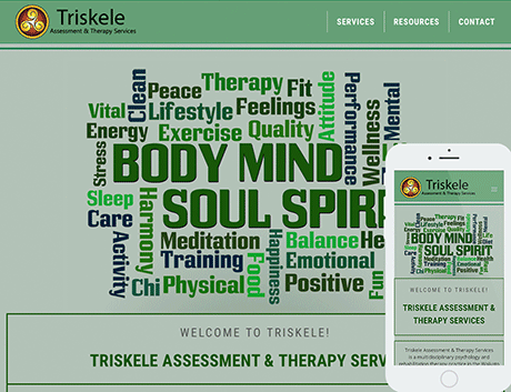 Affordable NZ Webdesign Peregrine Web - Recent Works - Triskele